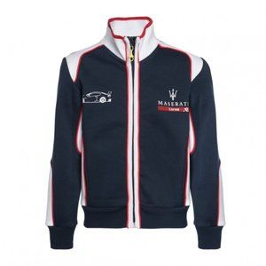 Maserati Bomberstyle Mens Zipped Sweater